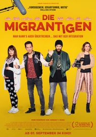 """Filmplakat für """"Die Migrantigen"""""""