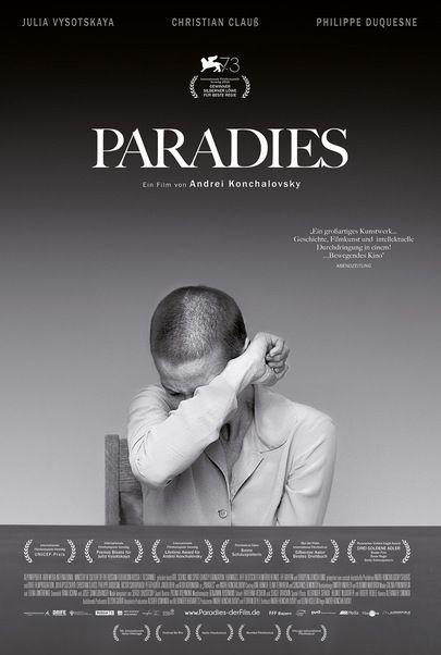 """Filmplakat für """"Paradies"""""""