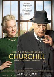 """Filmplakat für """"CHURCHILL"""""""