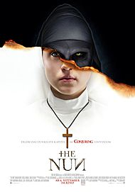 "Filmplakat für ""The Nun"""
