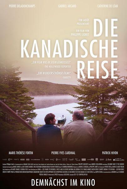 """Filmplakat für """"Die kanadische Reise"""""""
