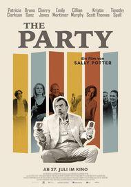 """Filmplakat für """"THE PARTY"""""""