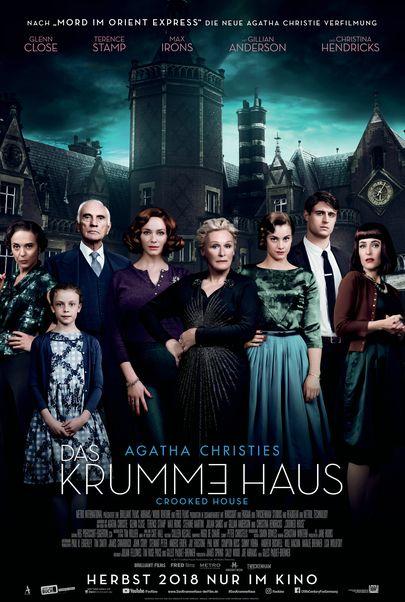 """Filmplakat für """"Das krumme Haus"""""""