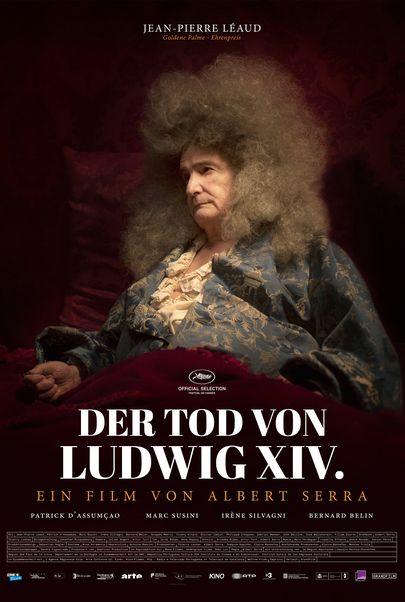 """Filmplakat für """"The Death of Louis XIV"""""""