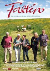 """Filmplakat für """"Falten - Eine Auseinandersetzung mit dem Älterwerden"""""""