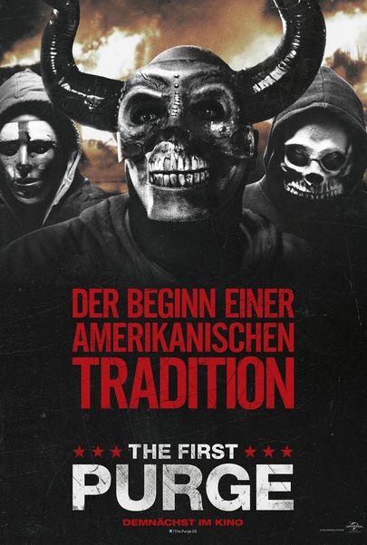 """Filmplakat für """"THE FIRST PURGE"""""""