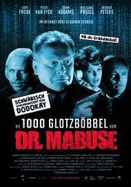 """Filmplakat für """"Die 1000 Glotzböbbel vom Dr. Mabuse"""""""
