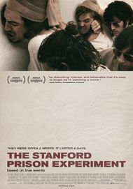 "Movie poster for ""THE STANFORD PRISON EXPERIMENT"""