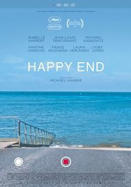 "Movie poster for ""HAPPY END"""