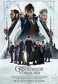 """Movie poster for """"Fantastic Beasts: The Crimes of Grindelwald"""""""