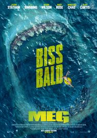 "Movie poster for ""THE MEG"""