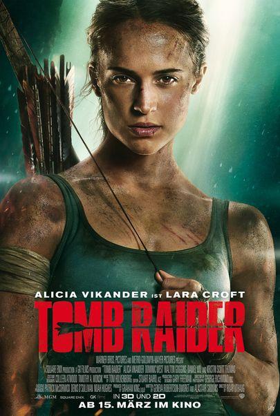"""Filmplakat für """"TOMB RAIDER"""""""