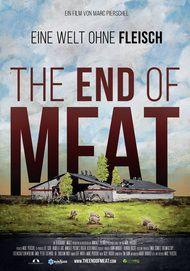 """Filmplakat für """"The End of Meat – Eine Welt ohne Fleisch"""""""