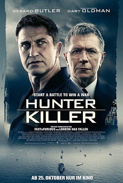 """Filmplakat für """"HUNTER KILLER"""""""