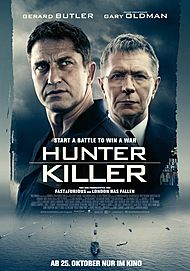"Filmplakat für ""HUNTER KILLER"""