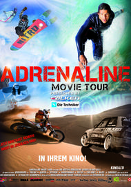 "Filmplakat für ""Adrenaline Movie Tour"""