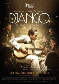 """Filmplakat für """"Django - Ein Leben für die Musik"""""""