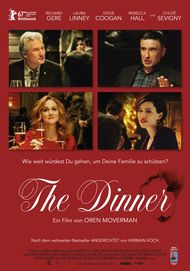 "Filmplakat für ""THE DINNER"""