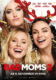 "Movie poster for ""A Bad Moms Christmas"""