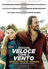 """Filmplakat für """"Veloce Come Il Vento - Giulias Grosses Rennen"""""""