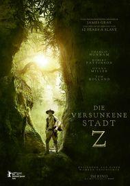 """Filmplakat für """"Die versunkene Stadt Z"""""""