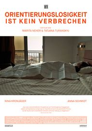"""Filmplakat für """"Orientierungslosigkeit ist kein Verbrechen"""""""