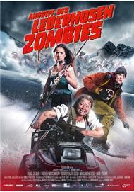 "Movie poster for ""Attack of the Lederhosen Zombies"""