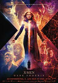 """Filmplakat für """"X-MEN : DARK PHOENIX"""""""