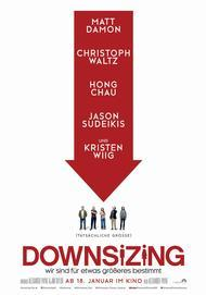 "Movie poster for ""DOWNSIZING"""
