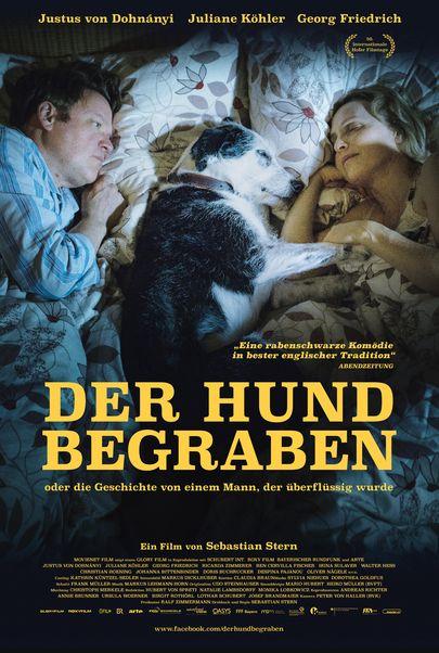 """Filmplakat für """"Der Hund begraben"""""""