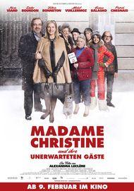 """Filmplakat für """"Madame Christine und ihre unerwarteten Gäste"""""""