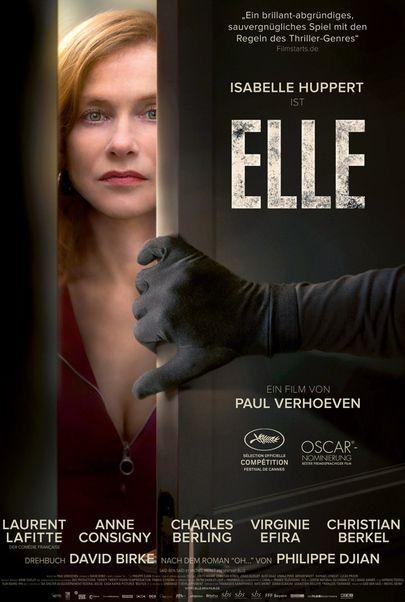 """Filmplakat für """"Elle"""""""