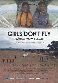 "Movie poster for ""Girls Don't Fly"""