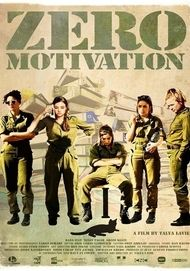 "Movie poster for ""Zero Motivation"""