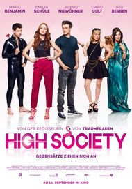 "Filmplakat für ""High Society"""
