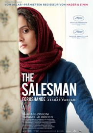 "Movie poster for ""THE SALESMAN"""