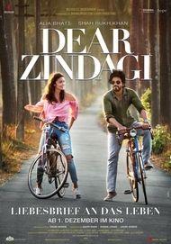 """Filmplakat für """"Dear Zindagi - Liebesbrief an das Leben"""""""