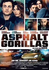 """Filmplakat für """"Asphaltgorillas"""""""