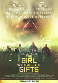 """Filmplakat für """"THE GIRL WITH ALL THE GIFTS"""""""