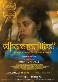 """Filmplakat für """"Where to, Miss?"""""""
