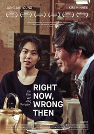"Filmplakat für ""Right Now, Wrong Then"""
