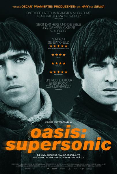 """Filmplakat für """"Oasis: Supersonic"""""""