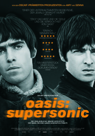 "Movie poster for ""Oasis: Supersonic"""