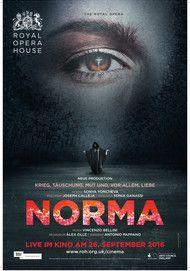 "Filmplakat für ""NORMA (Royal Opera House)"""