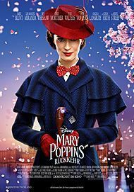 "Movie poster for ""MARY POPPINS RETURNS"""