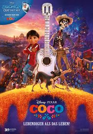 "Movie poster for ""Coco"""