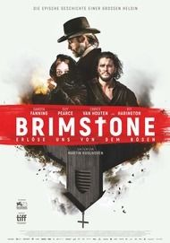 """Filmplakat für """"BRIMSTONE"""""""