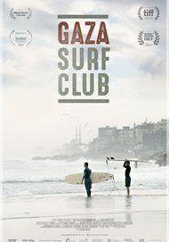 """Filmplakat für """"Gaza Surf Club"""""""