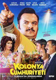 """Filmplakat für """"Kolonya Cumhuriyeti"""""""