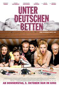 """Filmplakat für """"Unter deutschen Betten"""""""